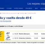 Pegasus Airlines already flies from Madrid