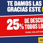 Ryanair Promotion 25% Sale vols