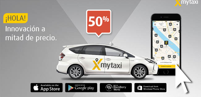 MYTAXI PROMO CODE SPAIN