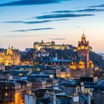 Getaway 3 Edinburgh nights from only 93 € including round trip flights and hotel (4/5 OF)