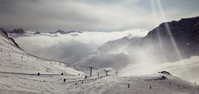 esquiar pistas